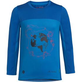 VAUDE Solaro LS T-Shirt II Kids, azul